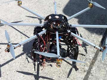 Werbeagentur Fotografie Luftaufnahmen Kameradrone Oktokopter