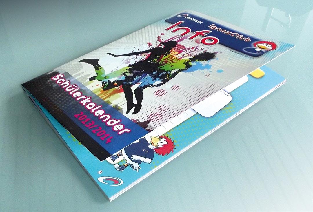 Werbeagentur Kinder Schülerkalender